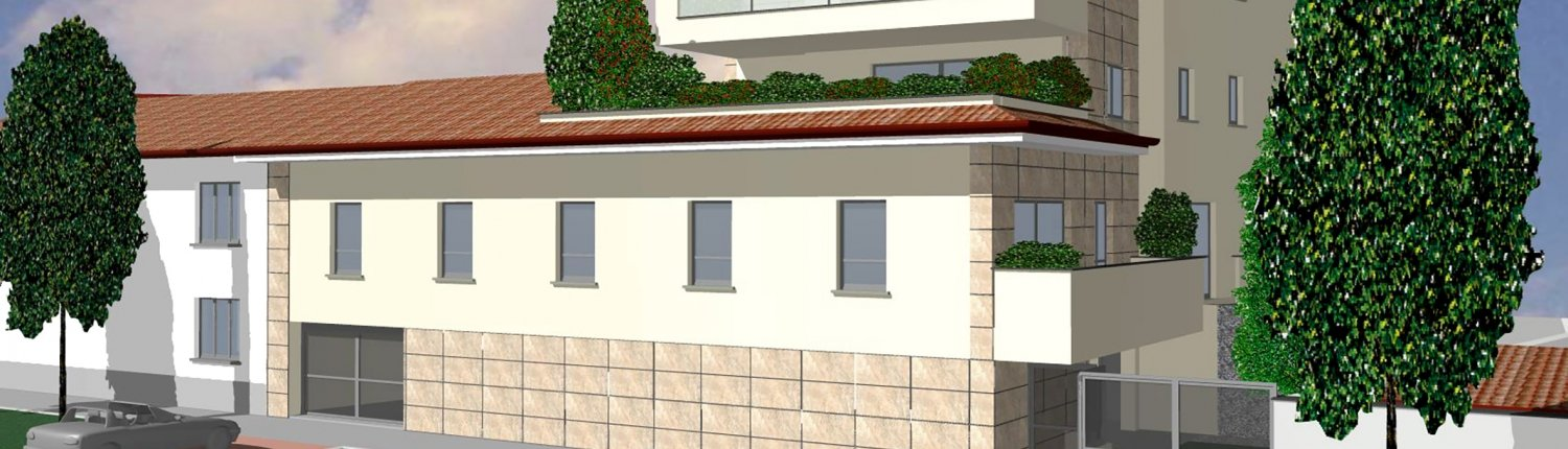 Via Rossini Legnano Render